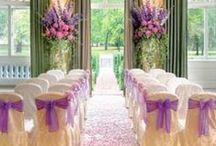 Weddings: Ceremony/Reception Ideas