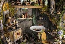 Fairy houses / by Michelle Tuegel