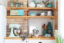Kitchen Spaces + Accessories / by The Blooming Thread