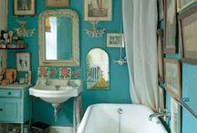 cottage bath / by Stephanie Blaylock