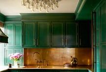 Dining Rooms/kitchens / by Betsey Pope