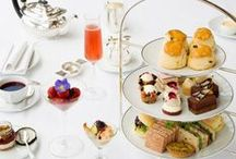 Festive Afternoon Teas / Enjoy afternoon tea with a difference as London's favourite pastime gets a festive makeover. Try afternoon tea, Christmas style with mouth-watering pastries and Christmas inspired finger sandwiches this festive season.
