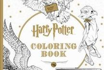 Coloring & Cocktails / Adult coloring books and cocktail books, used at our monthly events