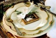 Table settings / by Orlean Moretti Buckingham