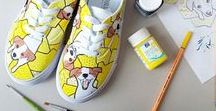Matase / Painted personalised shoes and other thing, like sunglasses, painted laces... Have a nice day bro! ;)