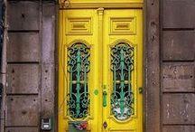 . knock, knock / Beautiful doors