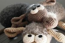 Dolly the sheep amigurumi crochet pattern project / by LittleOwlsHut