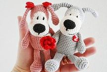 Dog Buffy Amigurumi crochet patter projects / by LittleOwlsHut