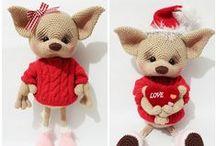 Fox Liza Crochet Pattern Projects Amigurumi LittleOwlsHut / by LittleOwlsHut