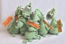 Dradon Draco / Amigurumi toy projects made with crochet patter by Pertseva for LitleOwlsHut / by LittleOwlsHut