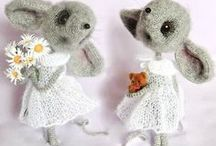 Mouse Sofia / Amigurumi toy. Mouse Sofia crochet pattern by Svetlana Pertseva for LittleOwlsHut / by LittleOwlsHut