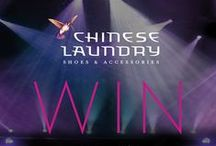 CONTESTS & GIVEAWAYS / Chinese Laundry shoe giveaways! Be sure to follow us and repin to win! / by Chinese Laundry Shoes