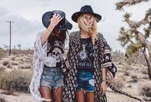 FESTIVAL STYLE / The perfect look for your next music festival getaway.
