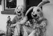 shhhhhhh...i'm hunting wabbits. / I had no idea i had a rabbit thing till Pinterest. / by charley mccoy