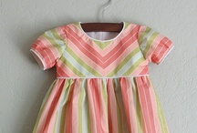 Sewing Ideas/Tutorials - Children's Clothing / Tutorials for sewing kids clothes from A(dorable) to Z(any)