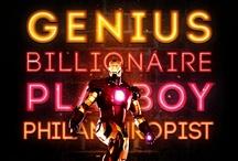 Incredible Iron Man / by Caitlyn Haake