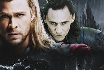 Thor and Loki / by Caitlyn Haake