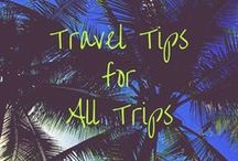 Travel Tips for All Trips / Travel tips and tricks for backpackers, solo traveller, family travel with kids and seniors travel. Get travel hacks, packing checklists and budget advice to plan your dream trip, vacation or holiday.