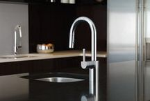 Modern Style / Gorgeous contemporary kitchen and bath faucets and accessories perfect for modern interior designs.