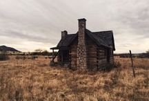 Cabins and Hideaways and Sheds and Trailers / by charley mccoy