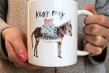«« Mugs + Cups »» / Because my addiction is next level.