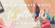 Get Good Grades / GPA isn't everything, but it sure is nice to feel like you did your best! These awesome tips are geared at helping you create good habits, get the most out of your classes and keep your grades up.