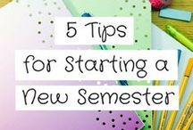 Start Your Semester Right / Welcome back! Start your semester off on the right foot by following some of these great tips and tricks.