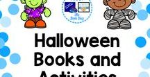 Halloween Books and Activities / A Pinterest board about Halloween resources