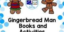 Gingerbread man activities, freebies, and more / A Pinterest board about Gingerbread man resources