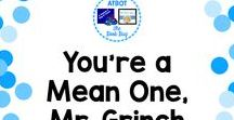 You're a Mean One, Mr. Grinch / A Pinterest board about Grinch resource
