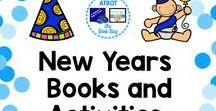 New Years Books and Activities / A Pinterest board about New Years resources