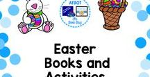 Easter books and activities / A Pinterest board about Easter resources