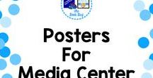 Posters for MC / A Pinterest Board about posters for the Media Center