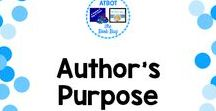 Author's Purpose / A Pinterest Board about author's purpose