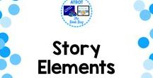 Story Elements / A Pinterest board about story elements