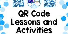 QR Code lessons and activities / A Pinterest Board about QR Code lessons and activities