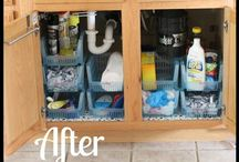 Cleaning and Organization Ideas / by Angie Cella