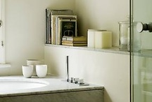 Bathrooms / calm bathing spaces
