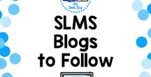 SLMS Blogs / Public and school librarian blogs with GREAT ideas!