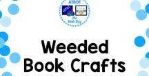 Weeded Books Crafts / Weeded book crafts