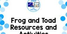 Frog and Toad resources and activities / A Pinterest board about Frog and Toad resources and activities