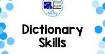 Dictionary Skills / A Pinterest Board about dictionary skills