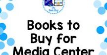 Books to Buy for MC / A Pinterest Board about books to buy for the Media Center