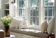 Niches & Window seats / a cosy corner