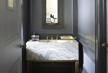 Powder  Room / glamorous powder rooms