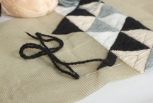 textil desing (embroidery, stamp & weave) / by v e r o