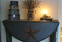 Prim Decor Rooms / All sorts of ways to decorate your home in a primitive way. / by Deborah Nichols