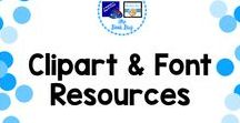 Clipart and Font resources / Places to find clipart and fonts