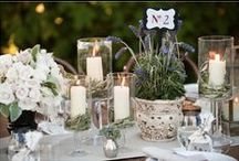 Aromatic themed wedding / Rustic elements such as wicker baskets, aromatic plants and wooden accessories all combined in a country, clean mix!