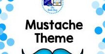Mustache Theme / A Pinterest board about mustache themed decor